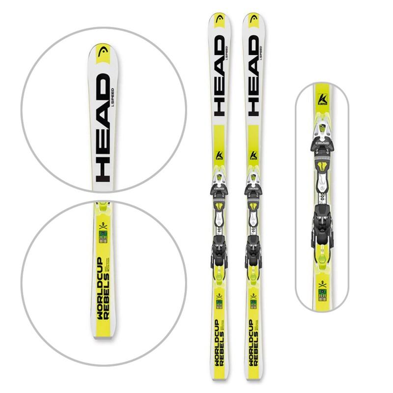 Ski WC REBELS iSPEED + FREEFLEX PRO 14