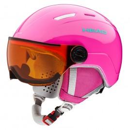 Ski helmet MAJA VISOR Girl