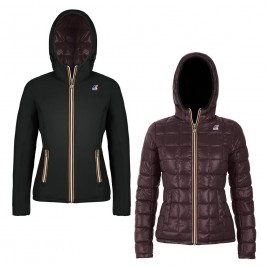Woman jacket LILY THERMO PLUS DOUBLE Reversible
