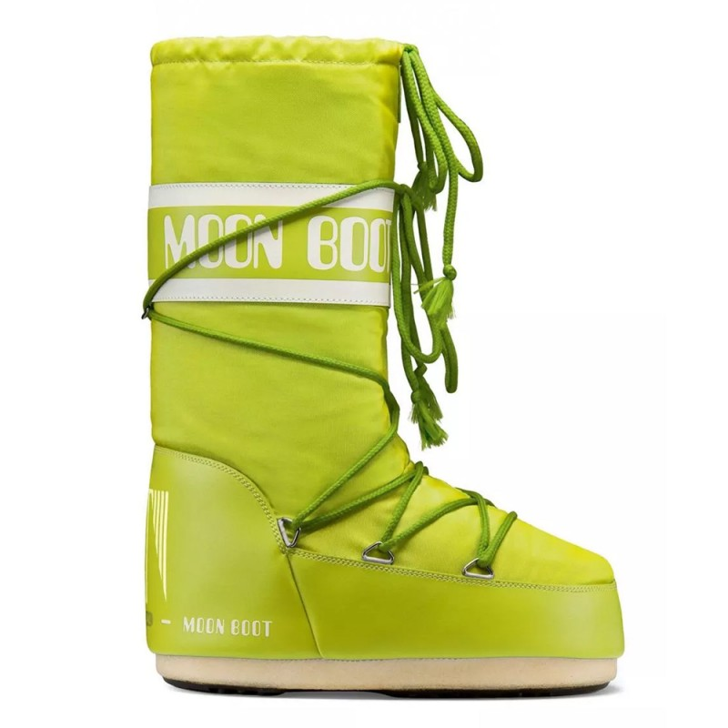 Snow boots MOON BOOT NYLON Originals - Lime