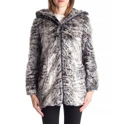 Faux fur hooded jacket APEX...