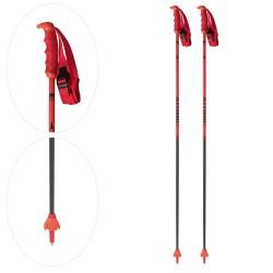 REDSTER CARBON Ski Poles