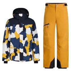 Men's CABERY + CHATOM Ski Suit